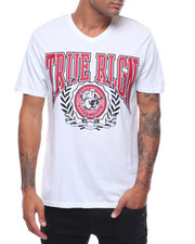 True Religion - TR LAUREL SS V NECK TEE-2242456