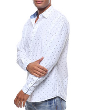 Button-downs - LS ANCHOR AND WHEEL BUTTONDOWM SHIRT-2242489