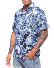 Button-downs - SS WATEROLOR FLORAL BUTTONDOWN SHIRT-2242517