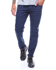 Pants - 5 Pocket skinny fit twill pant by WT 02-2241868