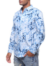 Button-downs - LS TYE DYED BUTTONDOWN SHIRT-2242462