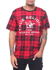 True Religion - ALLOVER PLAID SS CREW NECK TEE-2242511