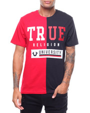 True Religion - UNI SPLIT CREW NECK TEE-2242444