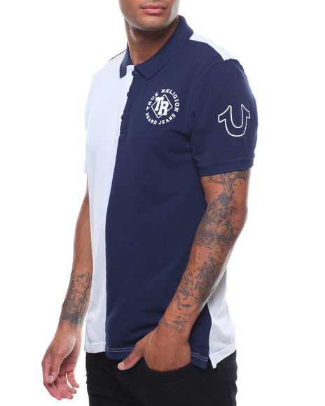 True Religion - HALF POLO SS HALP POLO