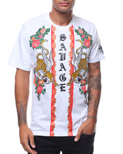 SWITCH - SAVAGE TIGER EMBROIDERED TEE-2242269