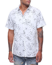 Button-downs - SS STAR INK BLOT BUTTONDOWN SHIRT-2242543
