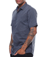 Button-downs - SS DIAMOND PATTERN BUTTONDOWN SHIRT-2242225