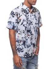 Button-downs - SS ANTIQUE VINTAGE FLORAL BUTTONDOWN SHIRT-2242528