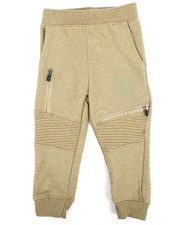 Bottoms - Marled Moto Sweatpants (2T-4T)-2240957