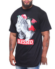 Big & Tall - S/S Blessed Tee (B&T)-2239128
