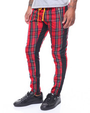 Civil Regime - TARTAN TRACK PANTS-2243236