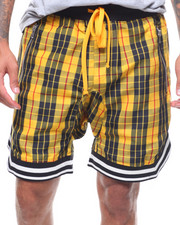 Shorts - MULHALLAND PLAID  DROP CROTCH SHORT-2243220