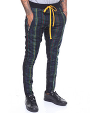 Civil Regime - BLACK WATCH TRACK PANTS-2243242