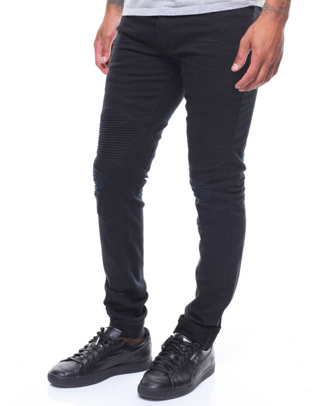 MADBLUE - Knee Panel Moto Twill Pant