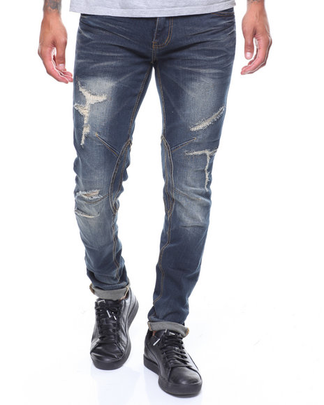 MADBLUE - Vintage Wash Ripped Jean