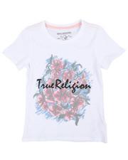 True Religion - Sketch Flower Tee (7-16)-2242067