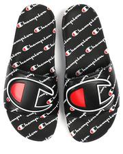 Sandals - All Over Logo Print Slides-2242582