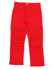 Arcade Styles - Moto Pants w/Zipper Detail (4-7)-2241958