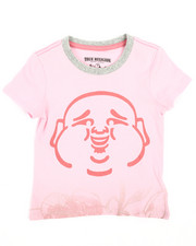 Girls - Flower Buddha Tee (2T-4T)-2242056