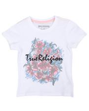 True Religion - Sketch Flower Tee (4-6X)-2242062