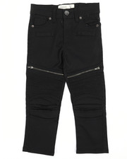 Arcade Styles - Moto Pants w/Zipper Detail (4-7)-2241963