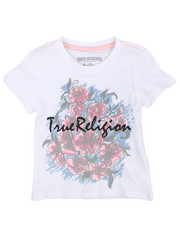 True Religion - Sketch Flower Tee (2T-4T)-2242059