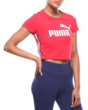 Puma - Tape Logo Cropped Tee-2241307