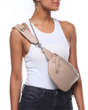 Women - Chained To You Vegan Leather Fanny Pack-2238529