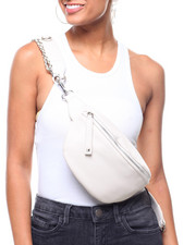 Women - Chained To You Vegan Leather Fanny Pack-2238530
