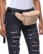 Fashion Lab - Sweet Lady Vegan Leather Fanny Pack-2238533