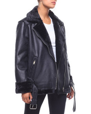 Fashion Lab - Faux Sherling Jacket-2241333