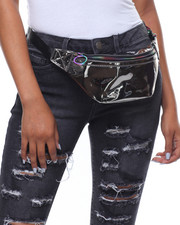 Fashion Lab - Jo Metallic Fanny Pack-2238526