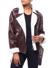 Fashion Lab - Faux Sherling Jacket-2241322