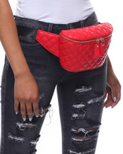 Fashion Lab - Sweet Lady Vegan Leather Fanny Pack-2238535