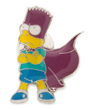 King Ice - Simpsons x King Ice - The Bartman Enamel Pin-2242046