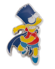 King Ice - Simpsons x King Ice - The Bartman II Enamel Pin-2242048