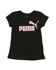 Puma - Puma Logo Graphic Tee (7-16)-2240332