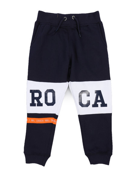 Rocawear - Rocawear Color Block Joggers (4-7)