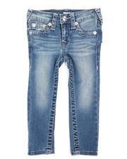 Bottoms - Single End Denim Jeans (2T-4T)-2242634