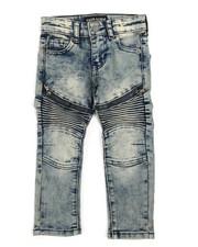Arcade Styles - Stretch Moto Zip Jeans (2T-4T)-2242757