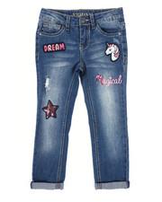 Vigoss Jeans - Austin Ankle Skinny Jeans w/Rolled Cuffs (4-6X)-2242687