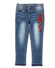 Vigoss Jeans - Austin Skinny Jeans w/Embroidery (7-16)-2242692