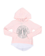 Tops - Long Sleeve Medallion Hooded Top (4-6X)-2242699