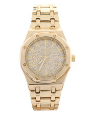 Jewelry & Watches - Fashion Gold Plated Iced Watch-2240252