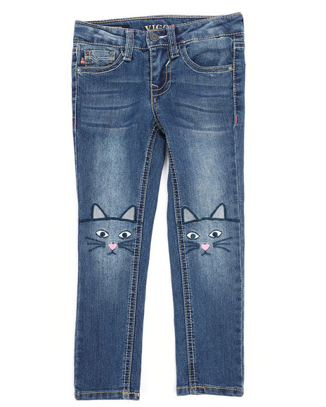 1c41e1bef9f Buy Jagger Skinny Jeans w Embroidery Detail (4-6X) Girls Bottoms ...