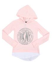 Tops - Long Sleeve Medallion Hooded Top (7-16)-2243482