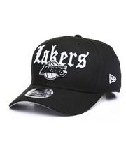 New Era - Los Angeles Lakers Classic Curve Script Snapback Hat-2241907