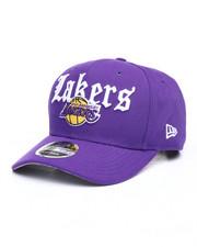 New Era - Los Angeles Lakers Classic Curve Script Snapback Hat-2241853