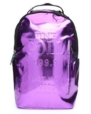 Sprayground - Purple Fine Gold Backpack (Unisex)-2242567
