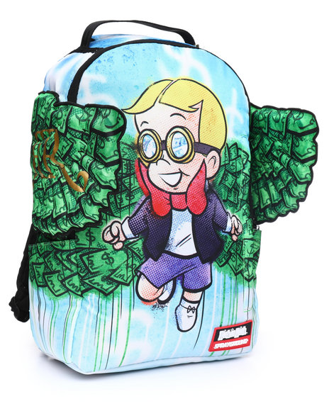 0a3f617d5aff Buy Richie Rich Money Wings Backpack (Unisex) Men s Accessories from ...